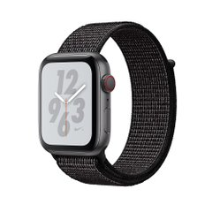 Apple Watch Series 4 Nike+ (GPS + Cellular) 44mm Space Gray Aluminum w. Black Nike Sport L. (MTXD2)