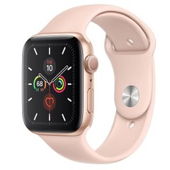 Apple Watch Series 5 GPS 44mm Gold Aluminum w. Pink Sand b.- Gold Aluminum (MWVE2)