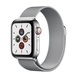 Apple Watch Series 5 LTE 40mm Steel w. Steel Milanese Loop - Steel (MWWT2)